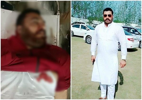 batala congress sarpanch son was shot dead