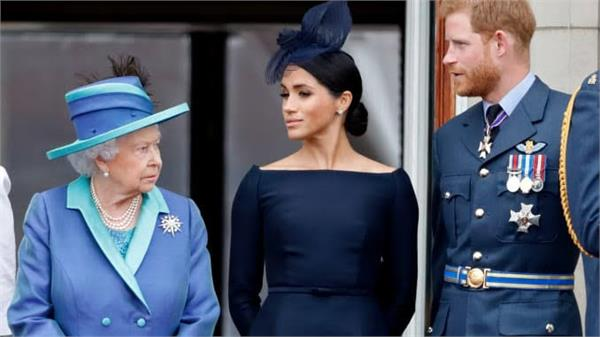 queen calls crisis meeting with harry meghan over royal role issue