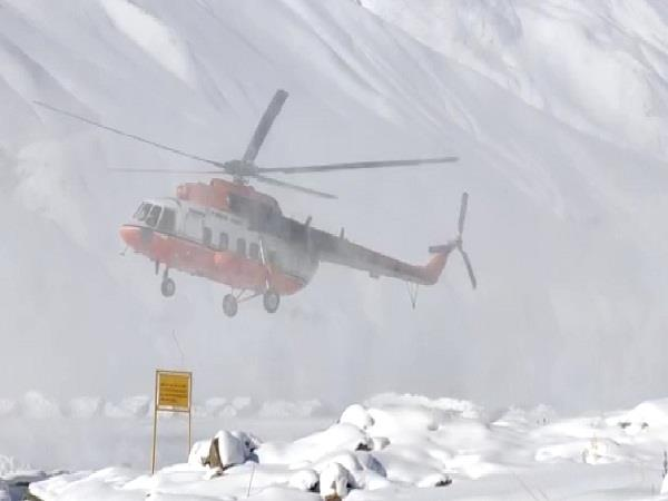 two lahaul spiti patients airlifted from kaja