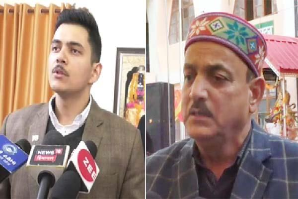 bjp congress face to face for development in himachal