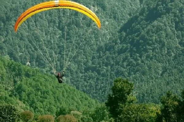 pre world cup paragliding competition