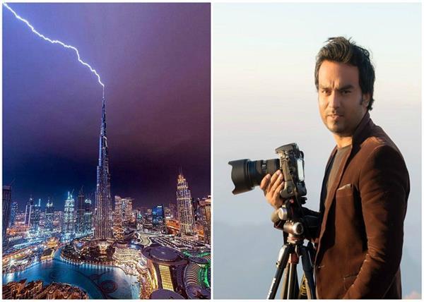 OMG! बुर्ज खलीफा पर बिजली गिरने का सालों से इंतजार कर रहा था यह शख्स