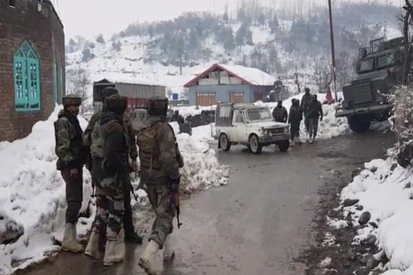 sog jawan martyred two other jawans injured during encounter pulwama