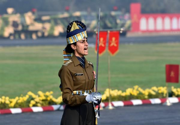 captain tanya shergill first woman to lead parade on army day