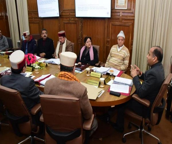 cabinet meeting open box of jobs