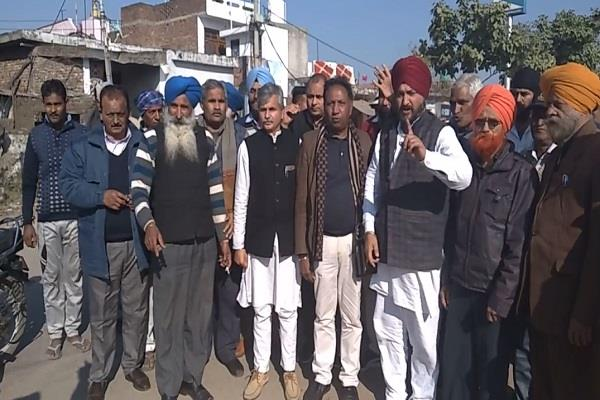 demonstration by opposition parties rs pura demanding jammu and kashmir