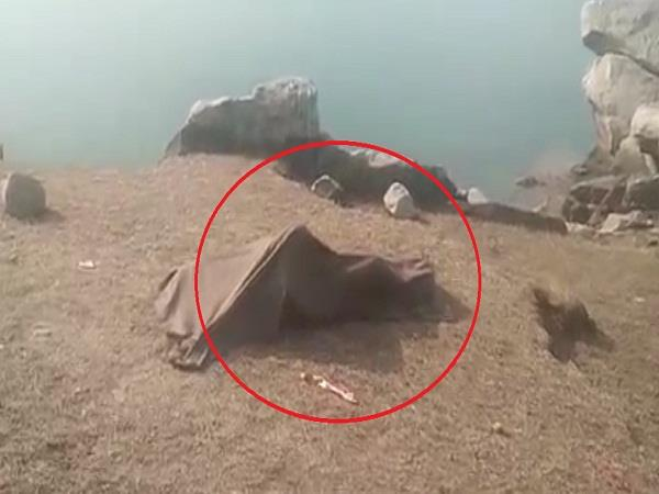 divers found the dead body of a drowned man in gobind lake