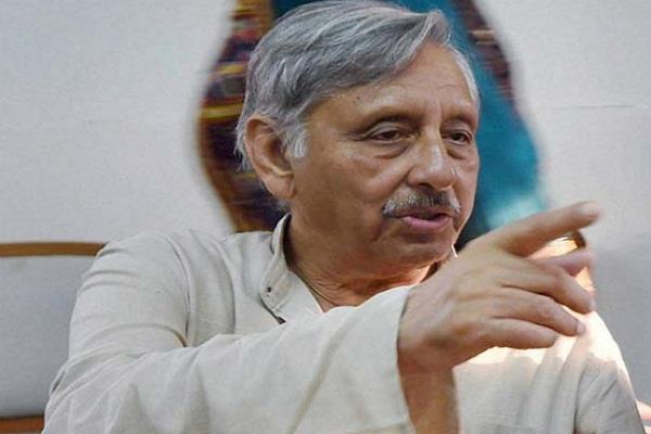 congress mani shankar iyer narendra modi yashwant sinha