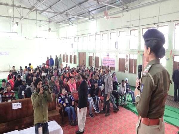 national unity camp held in una ends