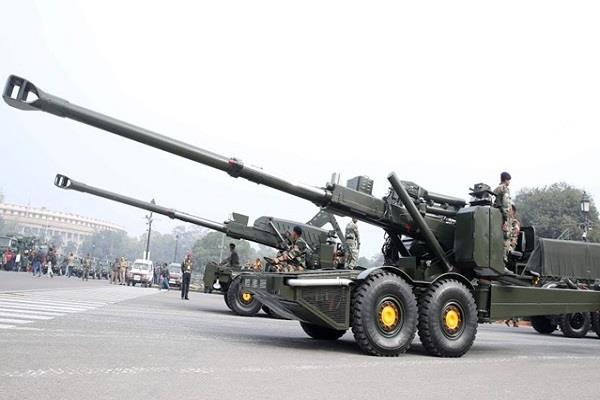dhanush cannon will be included for the first time in the parade of 26 january