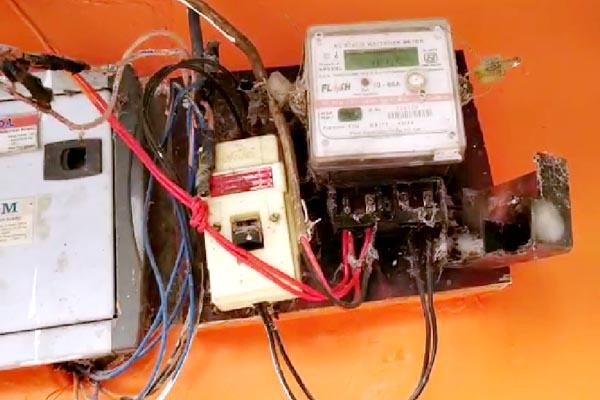 fined lakhs to 42 people for power theft