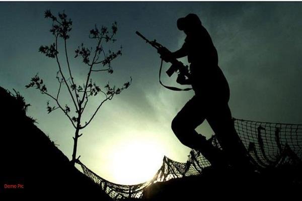 ssb jawans fired more than 200 bullets into the air at india nepal border