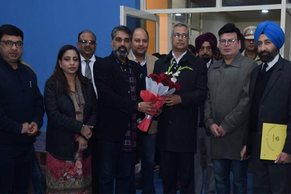 badminton hall of gymkhana club opened for players after renovation