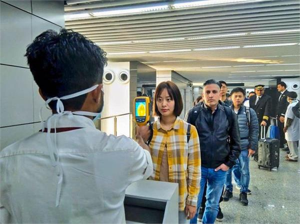 43 flights over 9000 passengers screened for coronavirus health secy