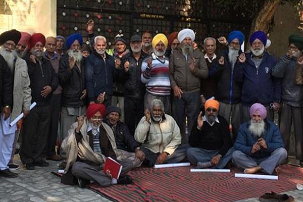 powercom pensioner protest