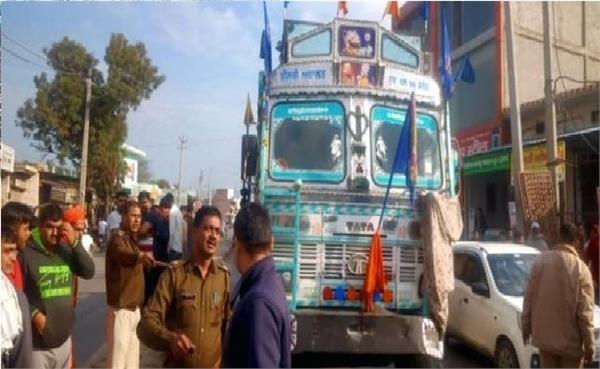 sikh fires up sword on jind rohtak national highway case registered