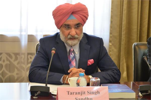 taranjit singh sandhu to take charge as india s ambassador in us