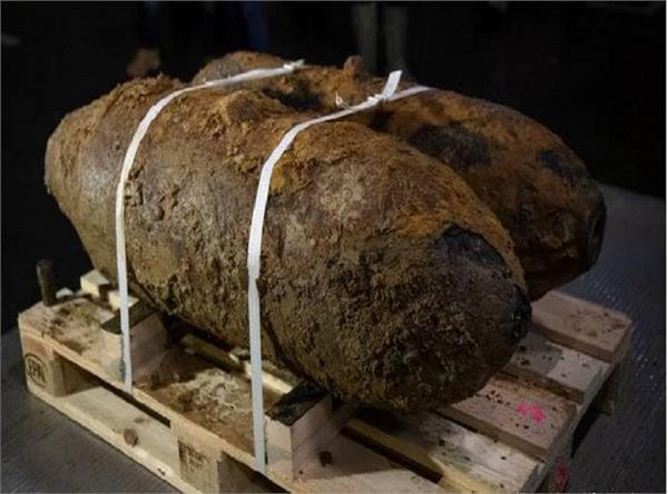 unexploded ww ii bombs found in germany