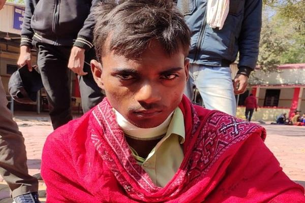 college student cuts his throat blade ratlam hospitalized treatment
