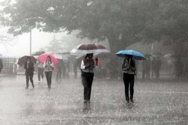weather changed in madhya pradesh it started a period of rain