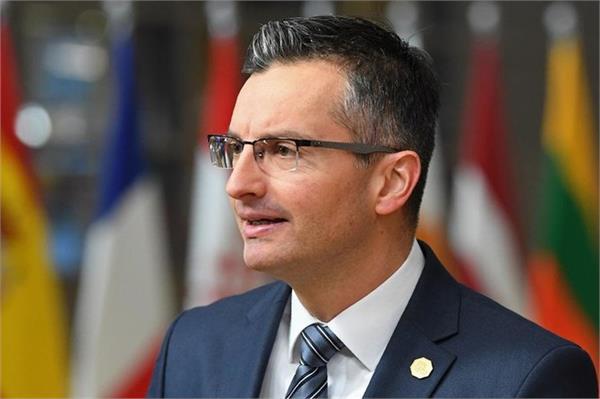 slovenia s prime minister announces resignation