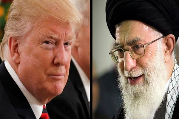 iran ayatollah ali khamani donald trump us