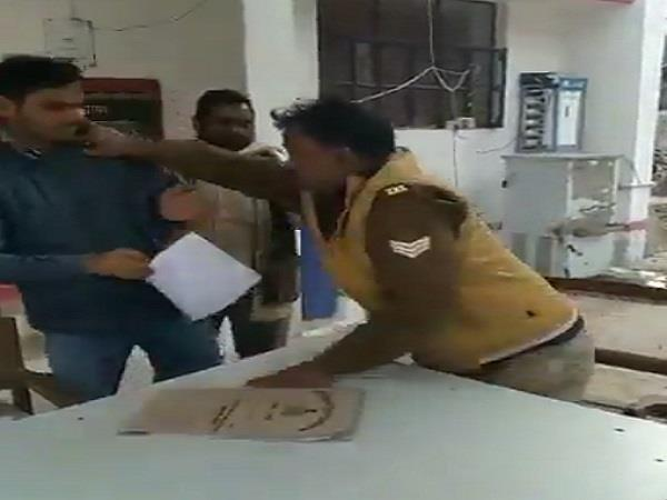 law student had to ask for receiving expensive policeman and hit the ground