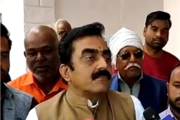 kamal nath govt implicating bjp leaders conspiracy rakesh singh