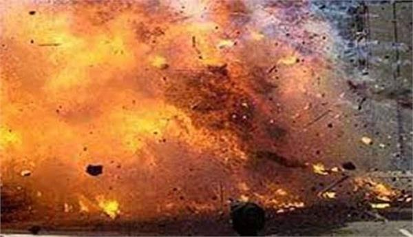 terrible explosion in firecracker factory in shamli 4 people dead