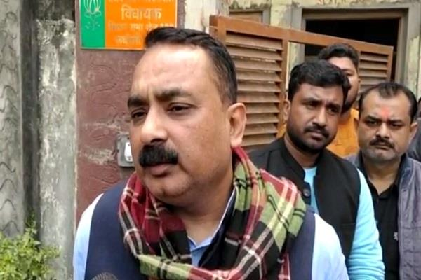 bjp mla opened front against district administration serious allegations