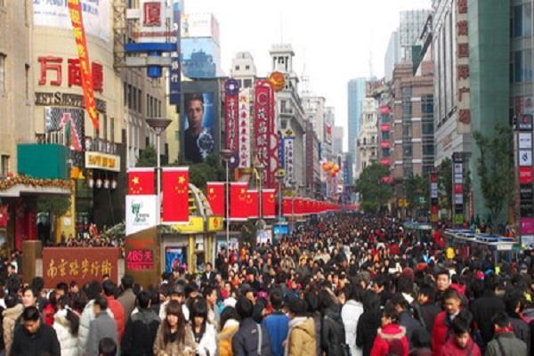 china population national data 70 years