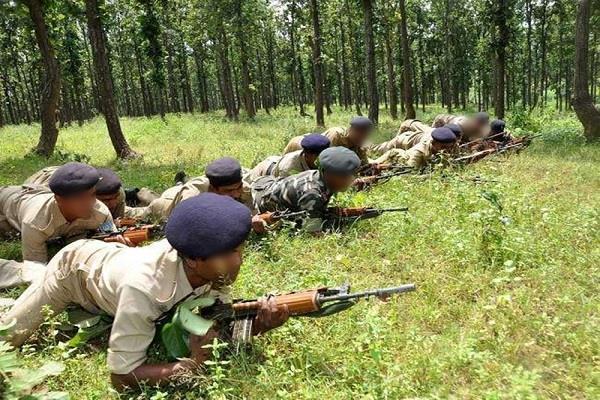 naxalite activities increased in border areas of mp police on alert