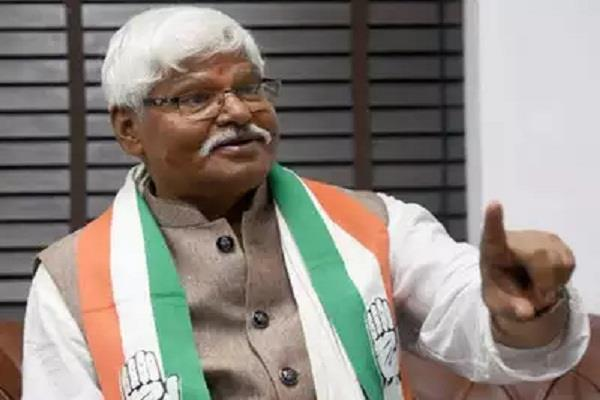 mahabal mishra suspended from congress