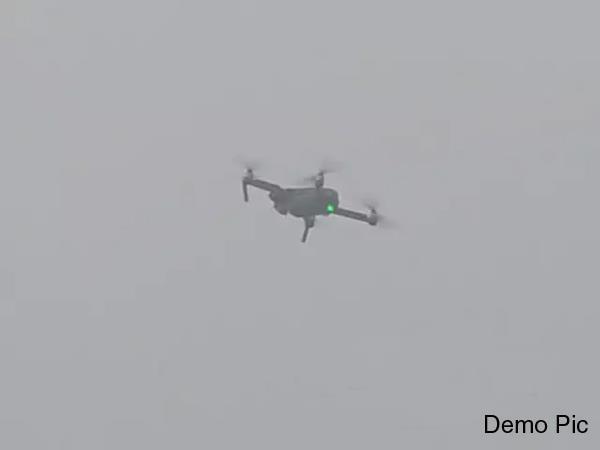 tarn taran drone seen again on indo pak border