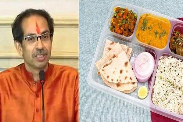 police came to pune to control people who came to buy shiva food thali