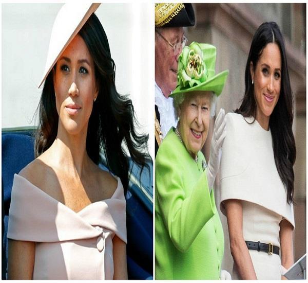 मेगन ने 5 बार तोड़ी शाही परंपरा, नहीं माने Queen के नियम!