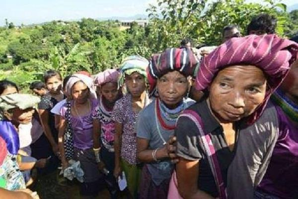 migrants displaced from mizoram will settle permanently in tripura