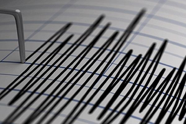 earthquake tremors at bhaderwah in jammu and kashmir