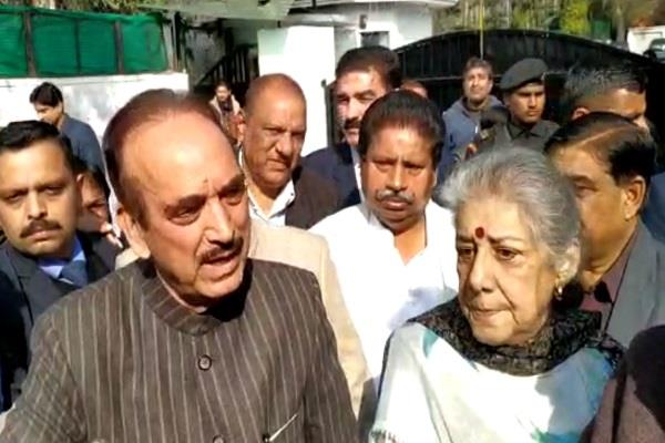 ghulam nabi azad lashed out at bjp on its tour