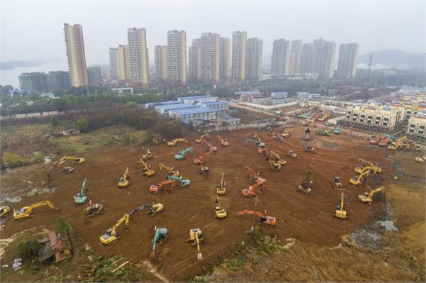 china hospital corona virus xin hua contener