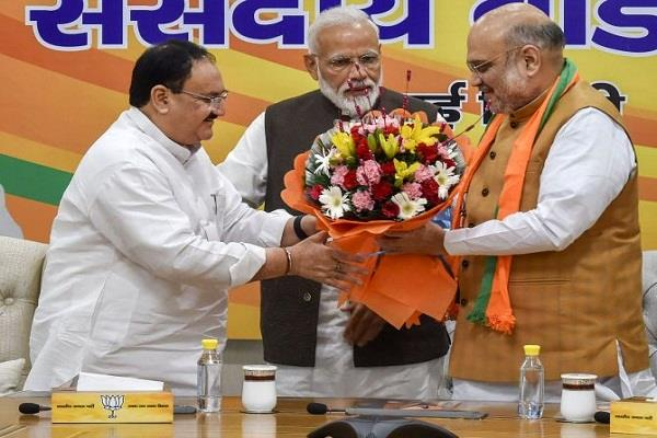 nadda to be elected bjp president on january 20