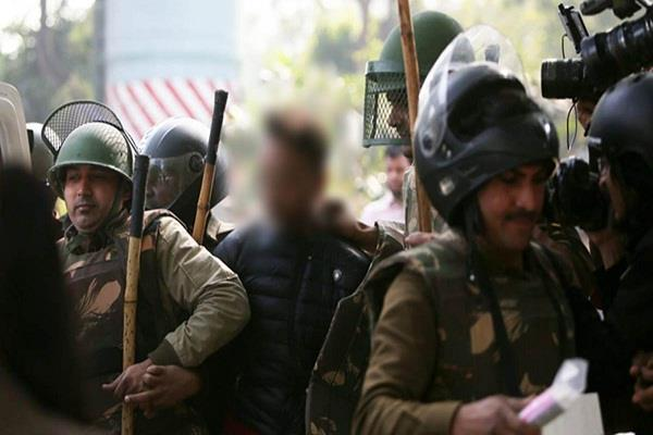 jamia firing case delhi police has filed a case against the accused