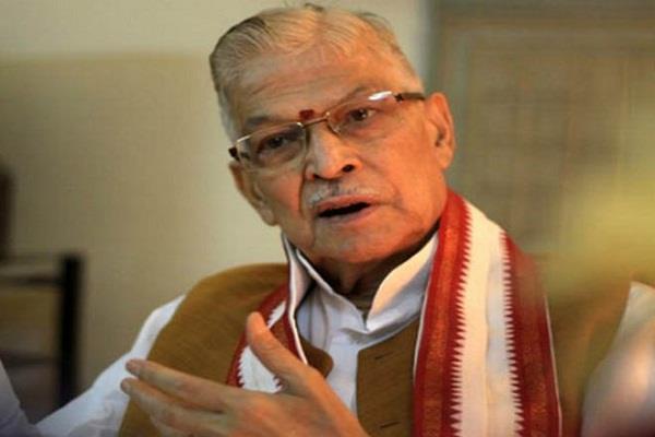 jnu violence bjp leader murli manohar joshi s big attack said remove vc