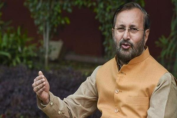javadekar said left hatched a conspiracy of violence to defame bjp abvp