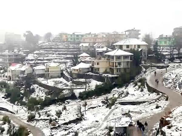 snowfall in dharamshala