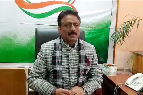 congress will demonstration in constituency of bjp president rajeev bindal