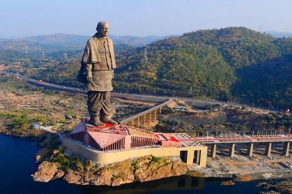 statue of unity  joins the eighth wonder of the world