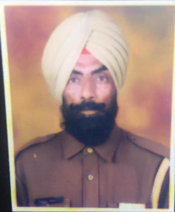 constable posted in grp died in road accident