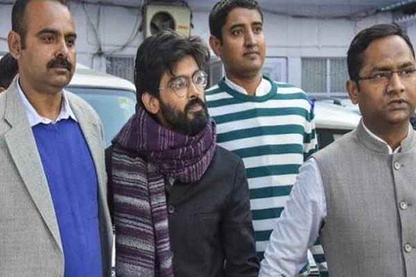 delhi court sent sharjeel imam to five days police custody