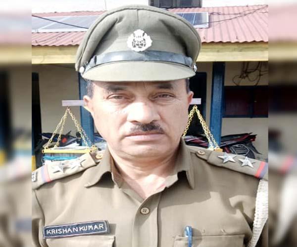 si krishan kumar of dalhousie police station